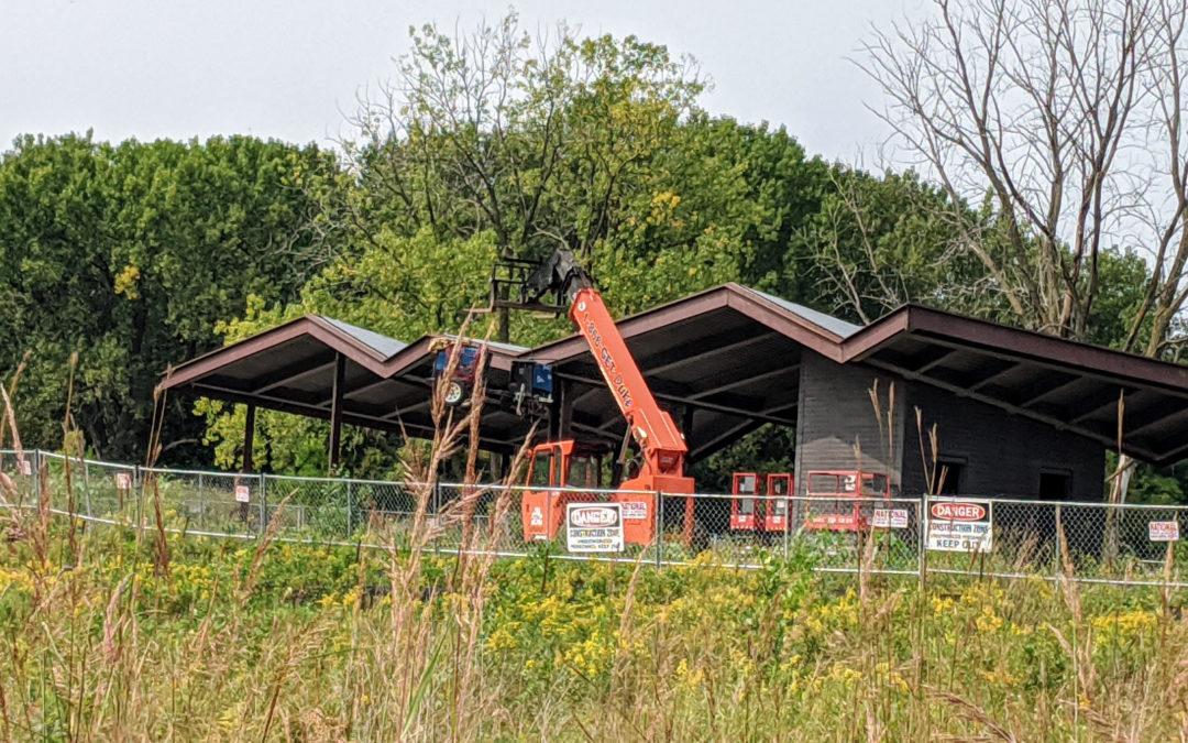 Lilydale Park Pavilion Takes Shape